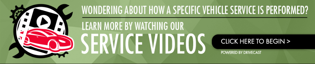 Check out our auto service videos